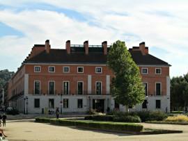 A room with a VIEW- NH Collection Palacio de Aranjuez.