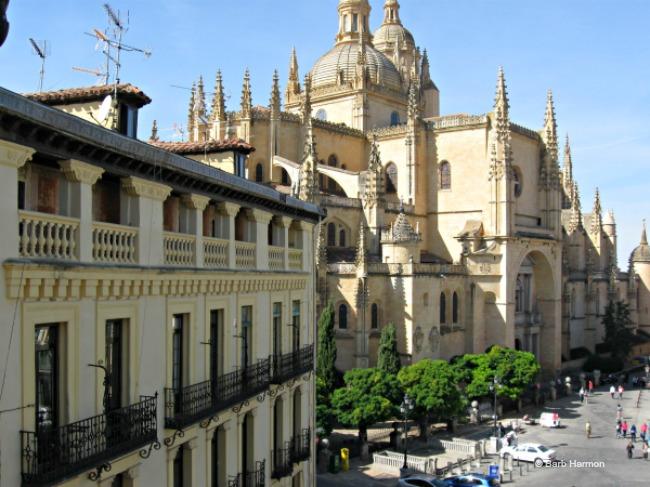 Segovia Cathedral- Hotel Infanta Isabel