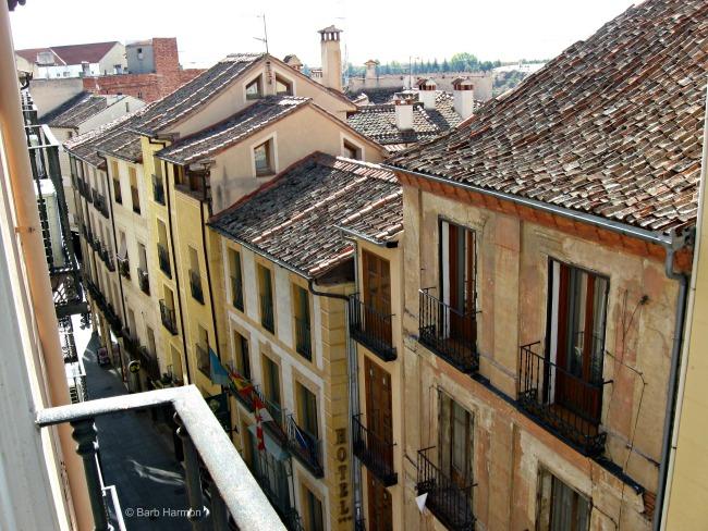 room 407- third balcony in Hotel Infanta Isabel
