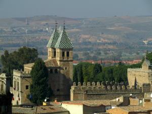 The New Bisagra Gate in Toledo, Spain