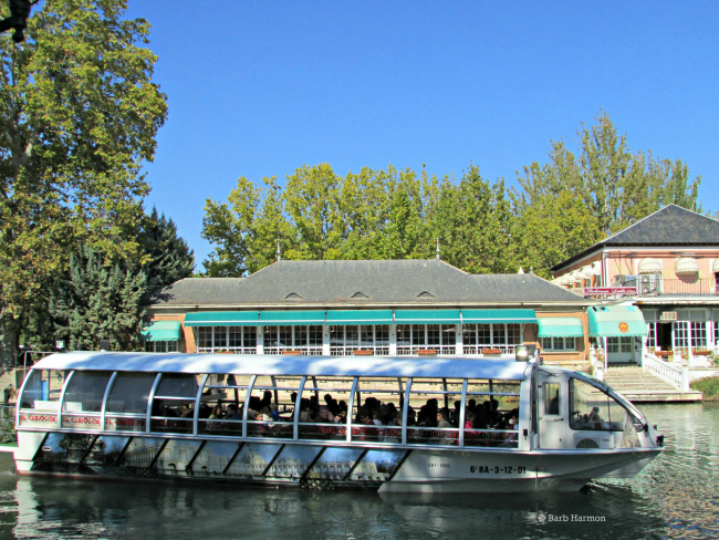 Tousrist boat on the river