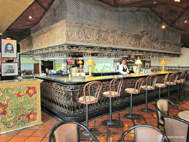 The bar at Lake Chapala