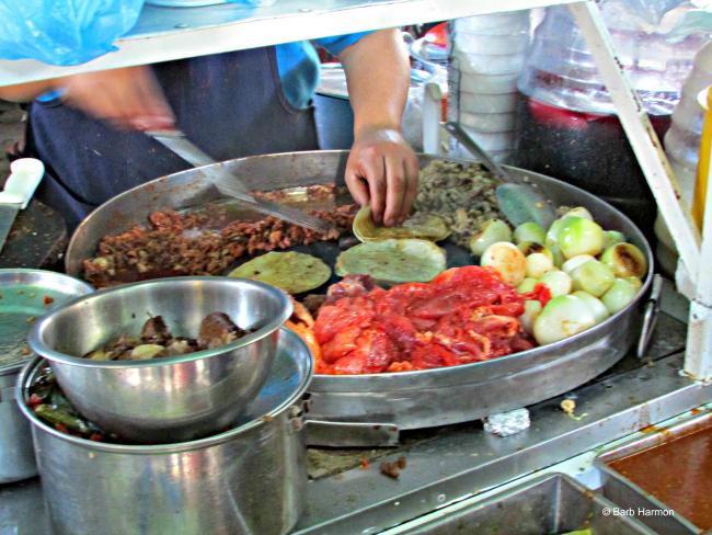 breakfast at the market in Ajijic