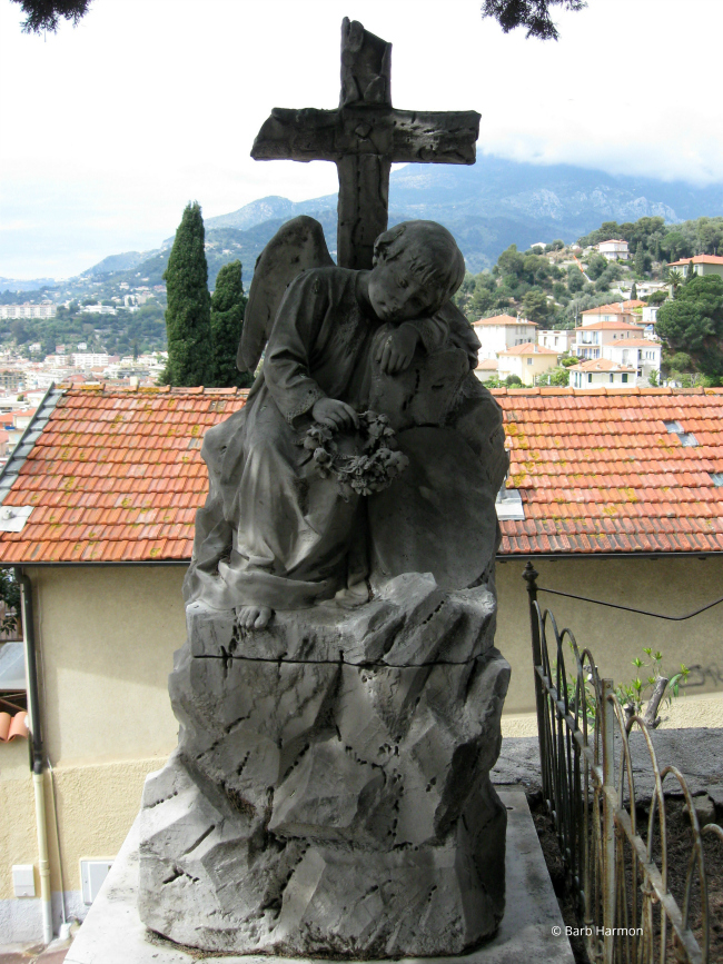 Funerary statue for a child