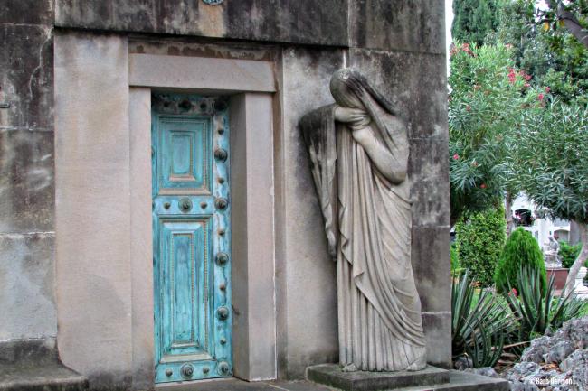 San Sebastia Cemetery- Sitges , Spain