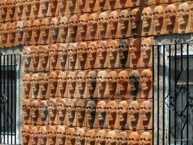 The Brilliance of Efren Gonzalez- Mural de los Muertos