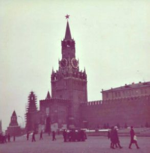 Spasskaya Tower-the tallest of the 20 towers in the kremlin