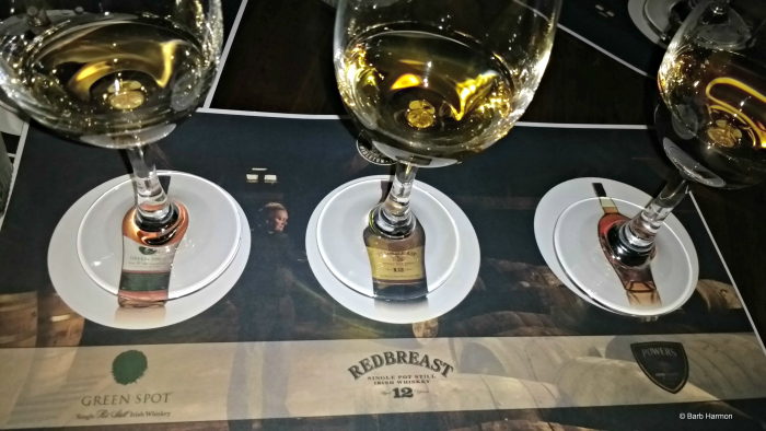 Whisky tasting at Flannerys Pub in Limerick Ireland