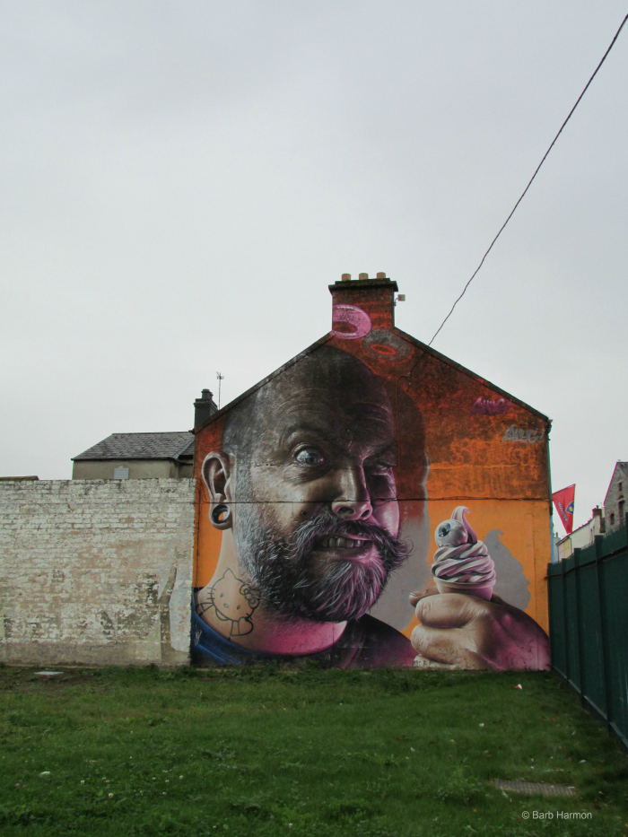 Street art in Limerick, Ireland