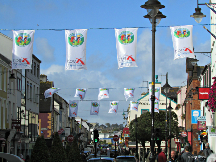 #TBEXIreland flags in Killarney, Ireland
