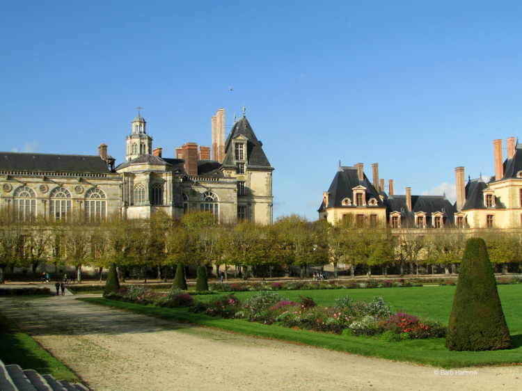 Outside of Paris—Fountainebleau