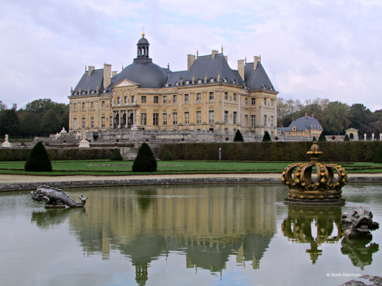 Outside of Paris—Vaux-le-vicomte