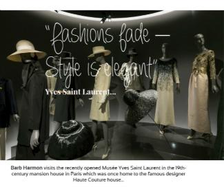 YSL Paris- Barb Harmon