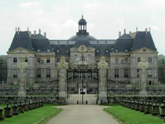 The Front of Vaux-le-Vicomte