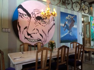 Café Rama in San Miguel, Mexico